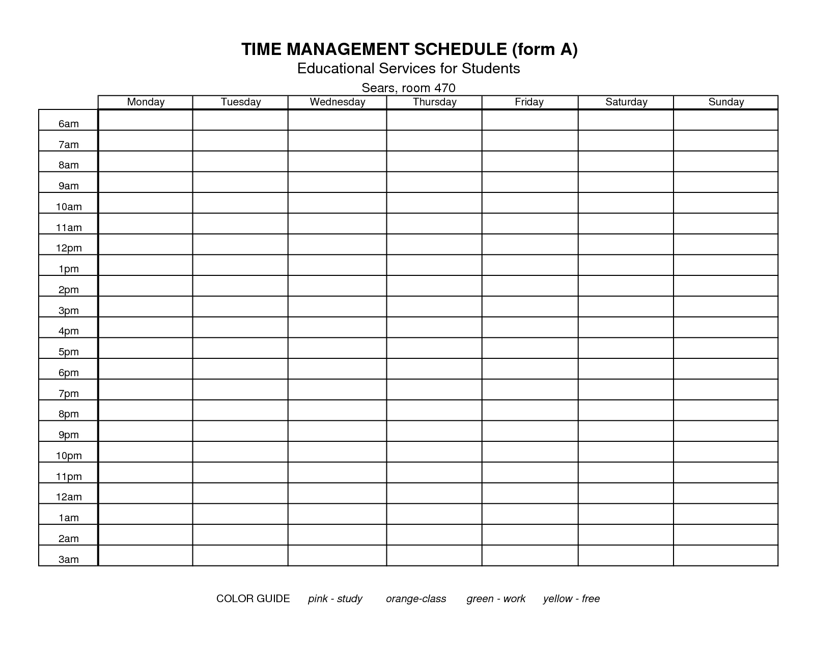 Simple Time Management Excel Spreadsheet Within Time Management Excel Spreadsheet In Excel