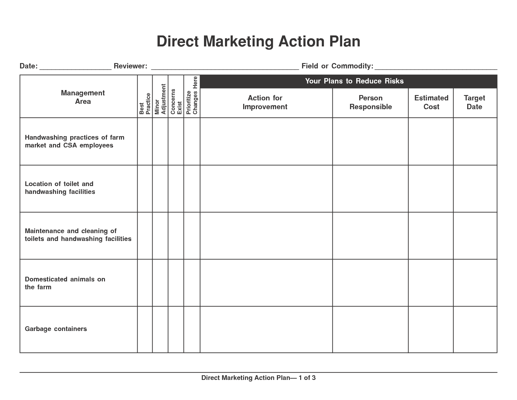 Template For Action Plan Template Excel In Action Plan Template Excel Sample