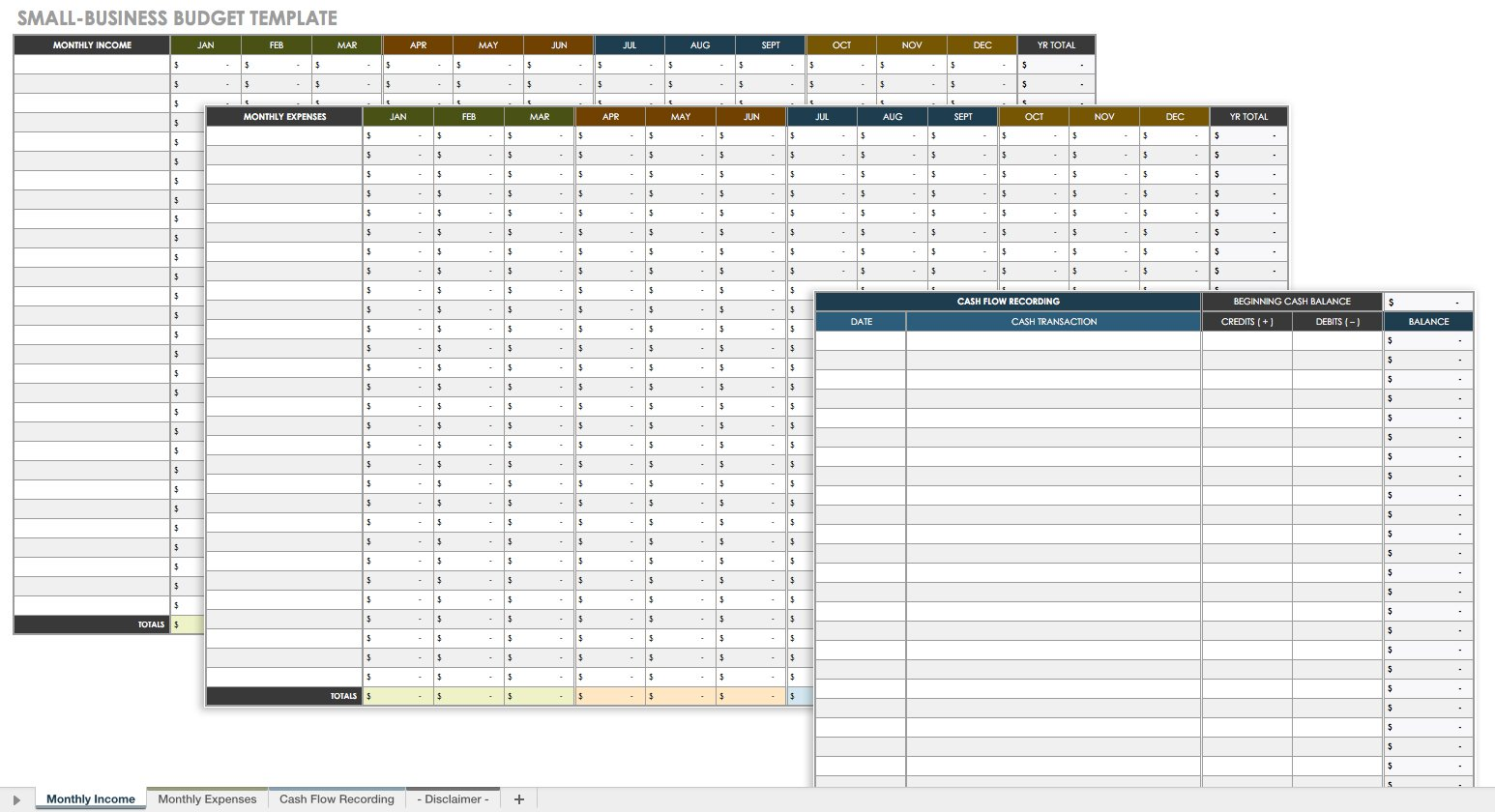 Template For Business Budget Template Excel With Business Budget Template Excel Download For Free