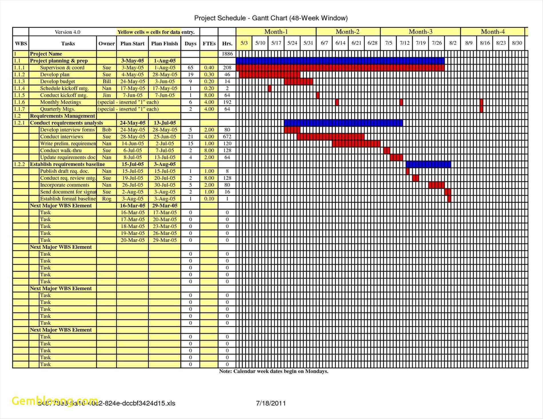 Template For Construction Schedule Template Excel And Construction Schedule Template Excel Document