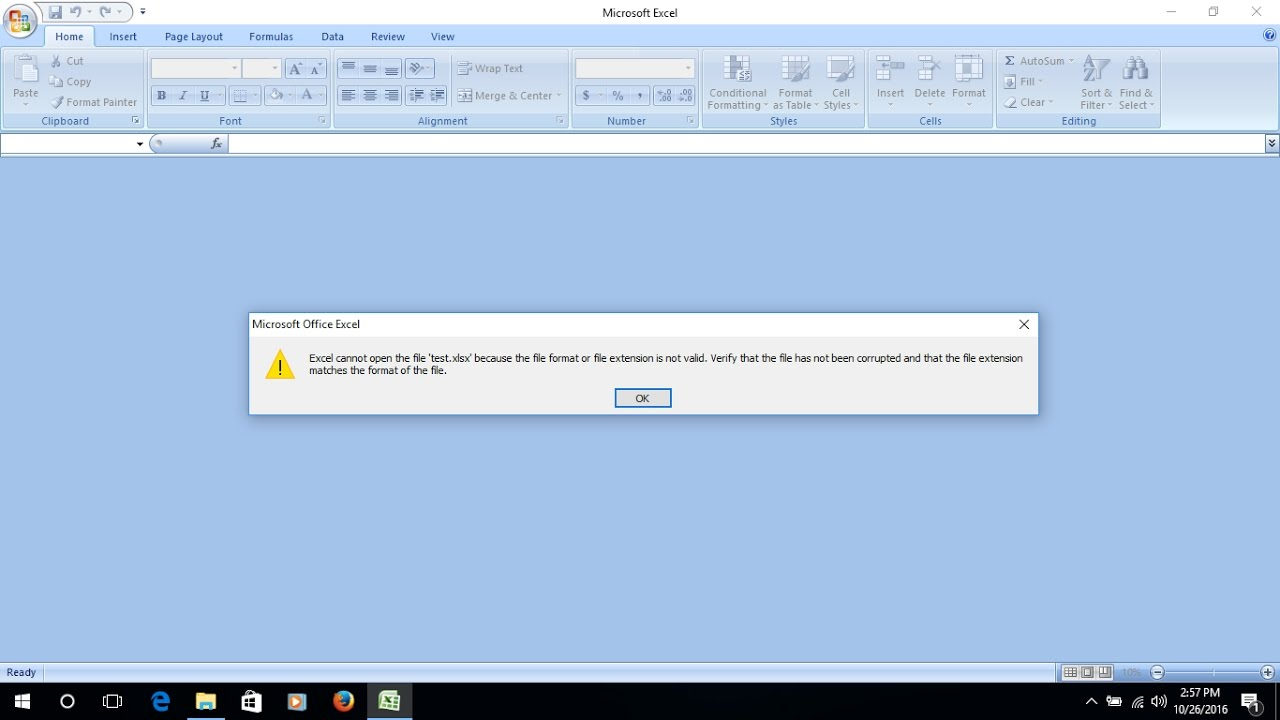 Template For Excel Cannot Open The File Because The File Format In Excel Cannot Open The File Because The File Format Sheet