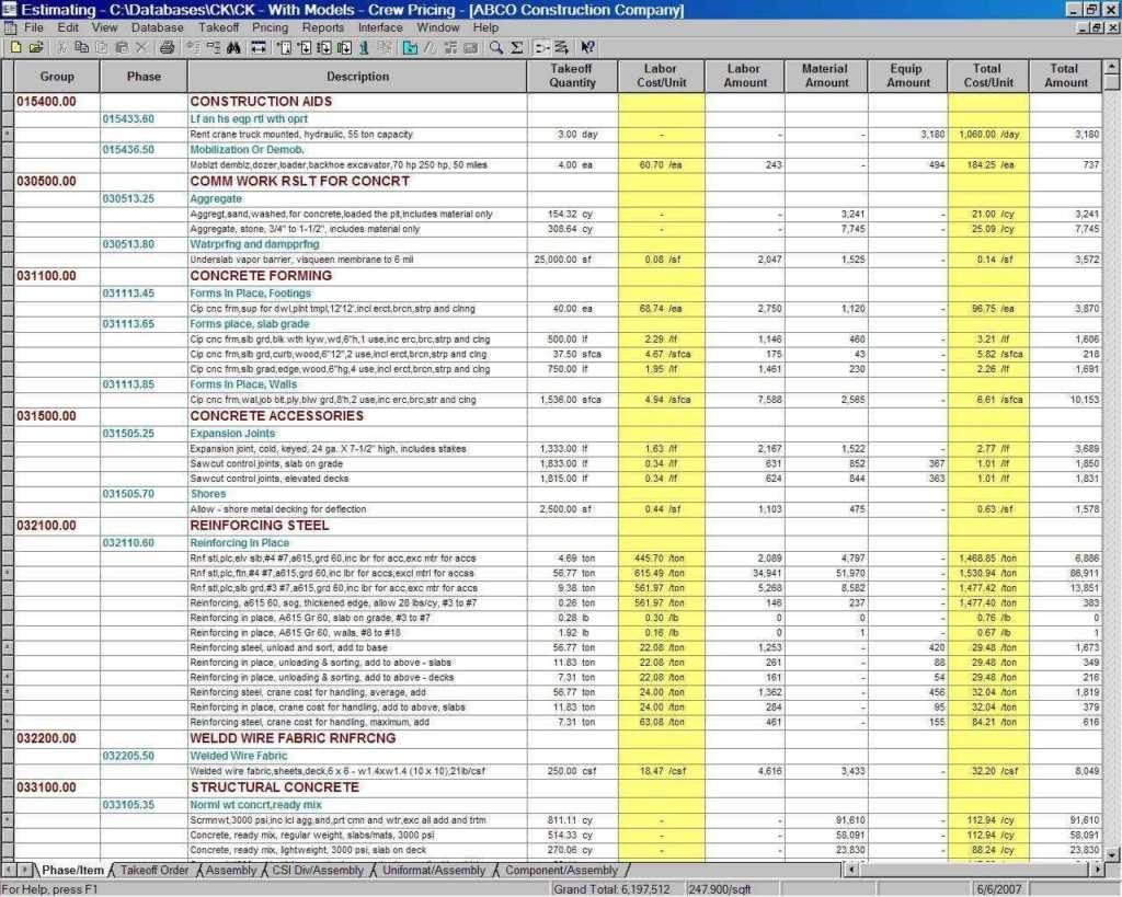 Template For Excel Spreadsheet For Construction Project With Excel Spreadsheet For Construction Project In Spreadsheet