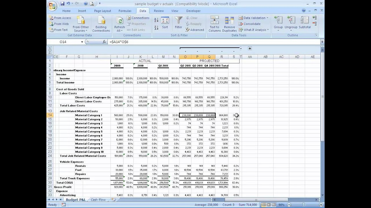 Template For Financial Forecast Template Excel To Financial Forecast Template Excel In Spreadsheet