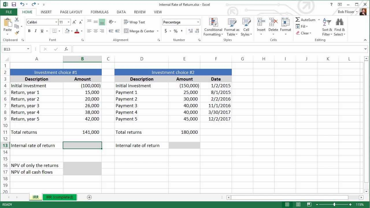 Template For Irr Calculator Excel Template Inside Irr Calculator Excel Template For Google Spreadsheet