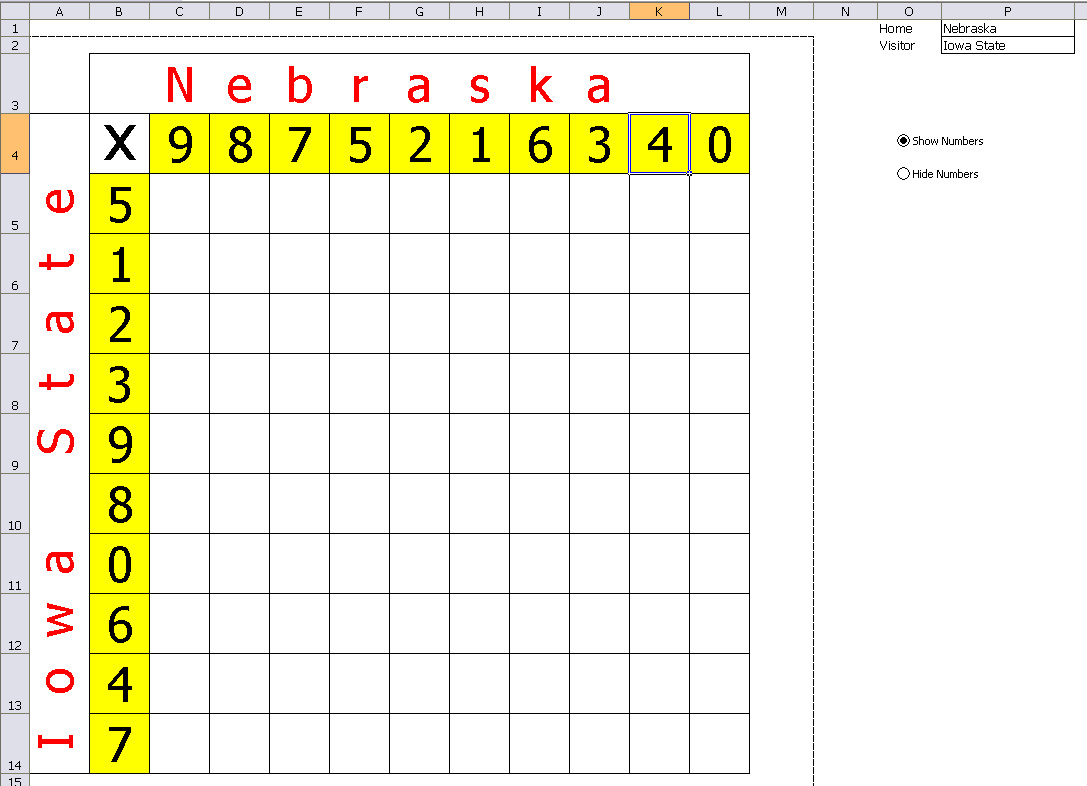 Template For Office Baby Pool Template Excel Throughout Office Baby Pool Template Excel Download For Free