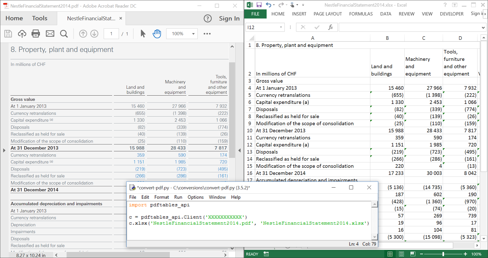 Template For Pdf To Excel Format For Pdf To Excel Format In Workshhet