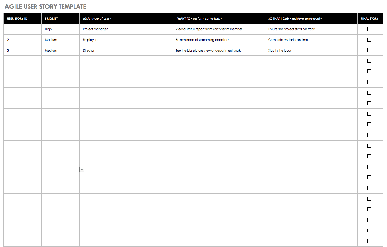 Templates For Agile Release Plan Template Excel Within Agile Release Plan Template Excel In Excel