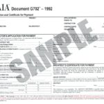 Templates for Aia G702 Excel Template inside Aia G702 Excel Template Printable