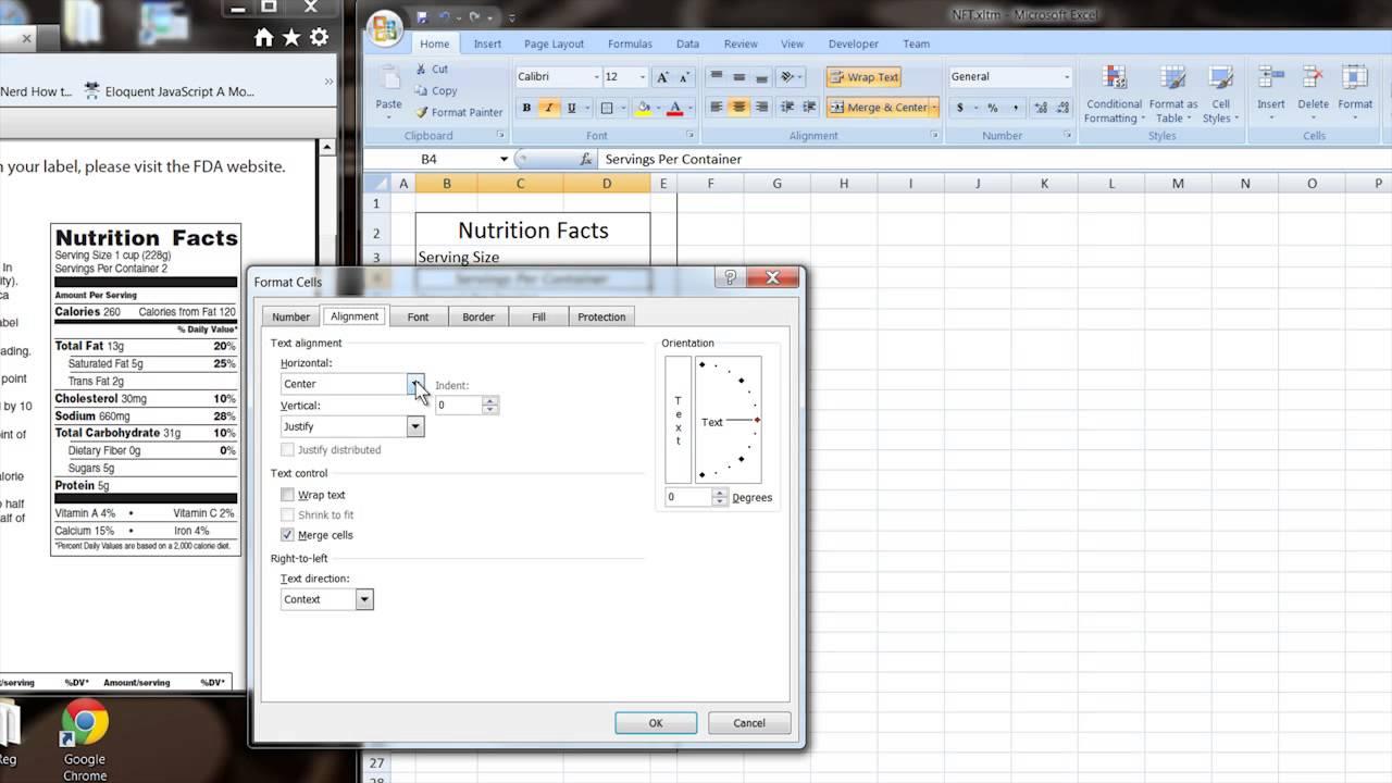 Templates For Blank Nutrition Label Template Excel Inside Blank Nutrition Label Template Excel In Workshhet