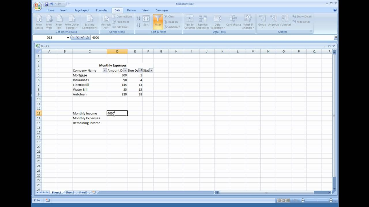 Templates For Excel Spreadsheet For Expenses In Excel Spreadsheet For Expenses For Free