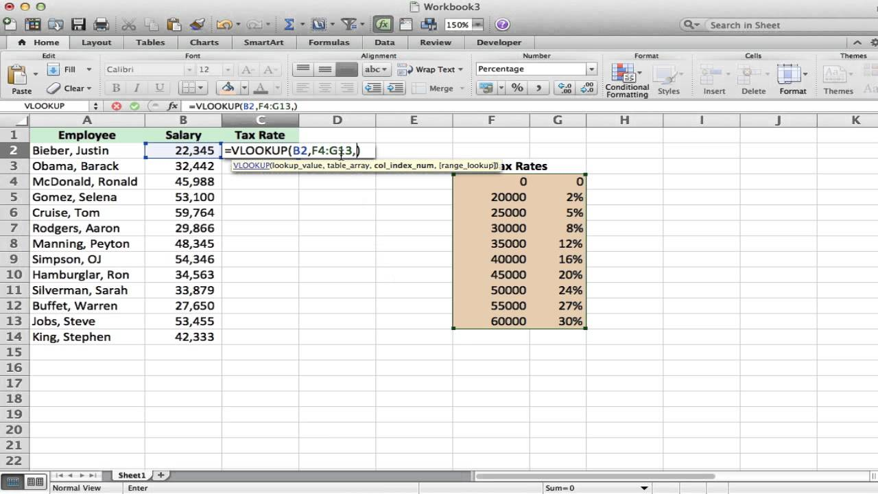 Templates For Excel Vlookup Example With Excel Vlookup Example For Personal Use