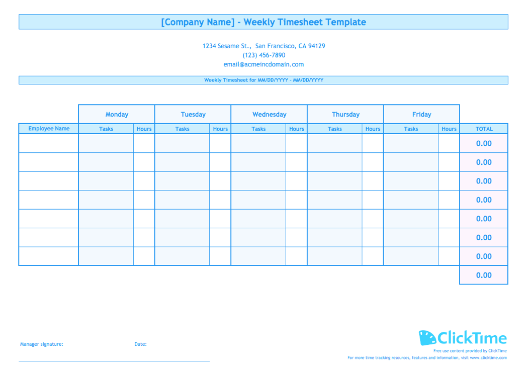 Templates For Excel Weekly Timesheet Template With Formulas Within Excel Weekly Timesheet Template With Formulas Letters