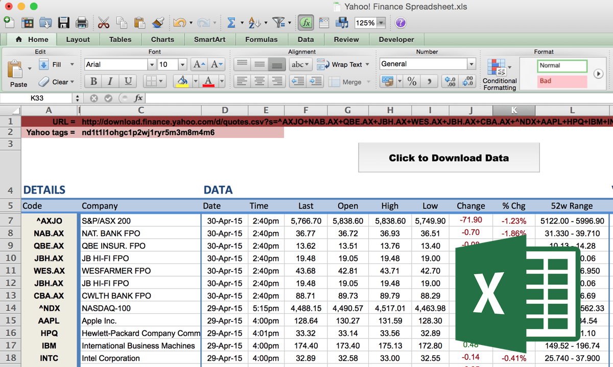 Templates For Financial Spreadsheet Excel Throughout Financial Spreadsheet Excel Example