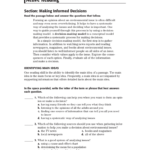 Active Reading Together With Skills Worksheet Active Reading