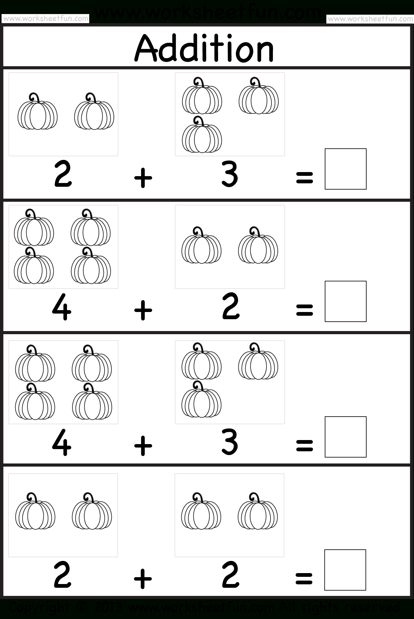 Additionsubtraction Numbers 1 10 Kinder  Lessons  Tes Teach With Free Addition Worksheets For Kindergarten