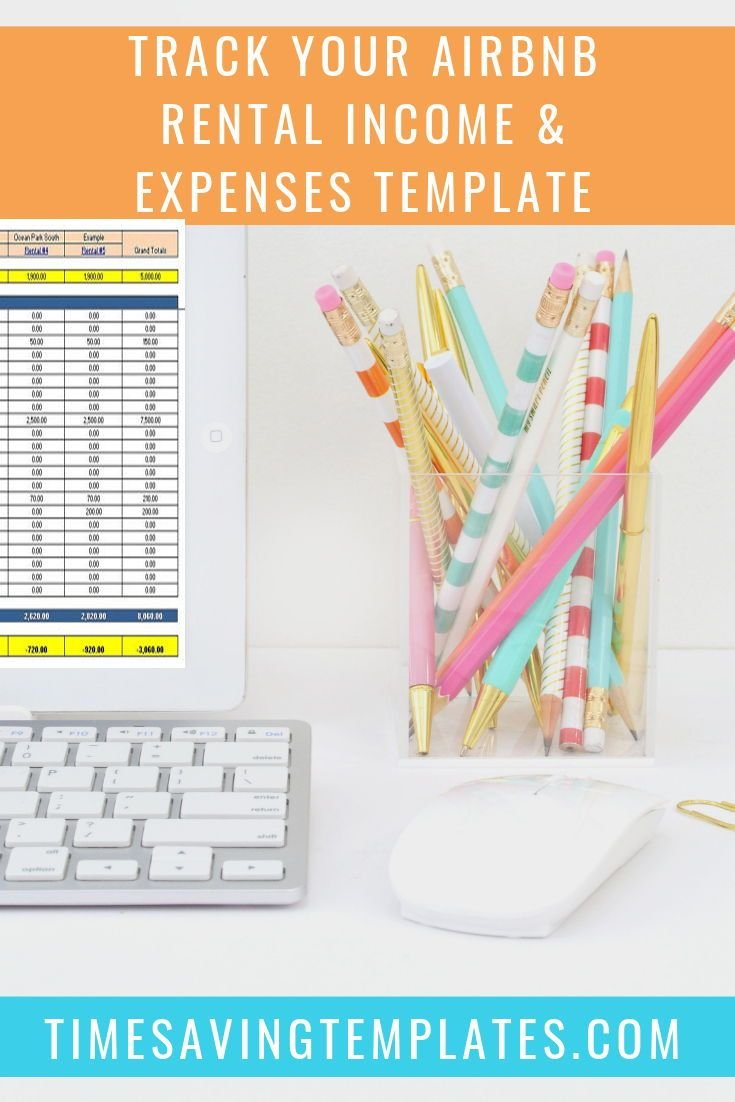 Airbnb Bookkeeping, Airbnb Excel Template In 2019   Real Estate ... Or Airbnb Spreadsheet Template
