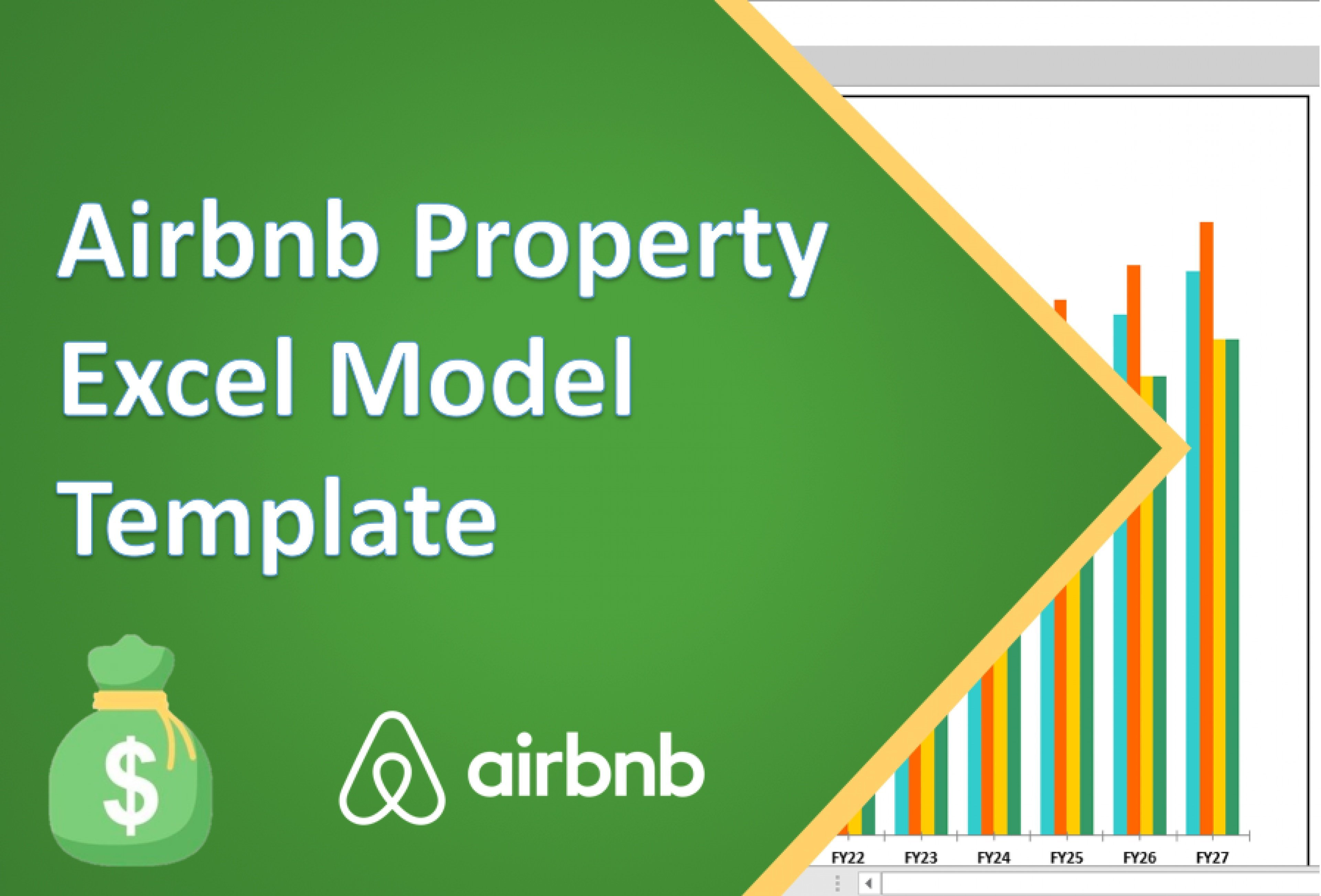 Airbnb Property Excel Model Template   Eloquens Within Airbnb Spreadsheet Template