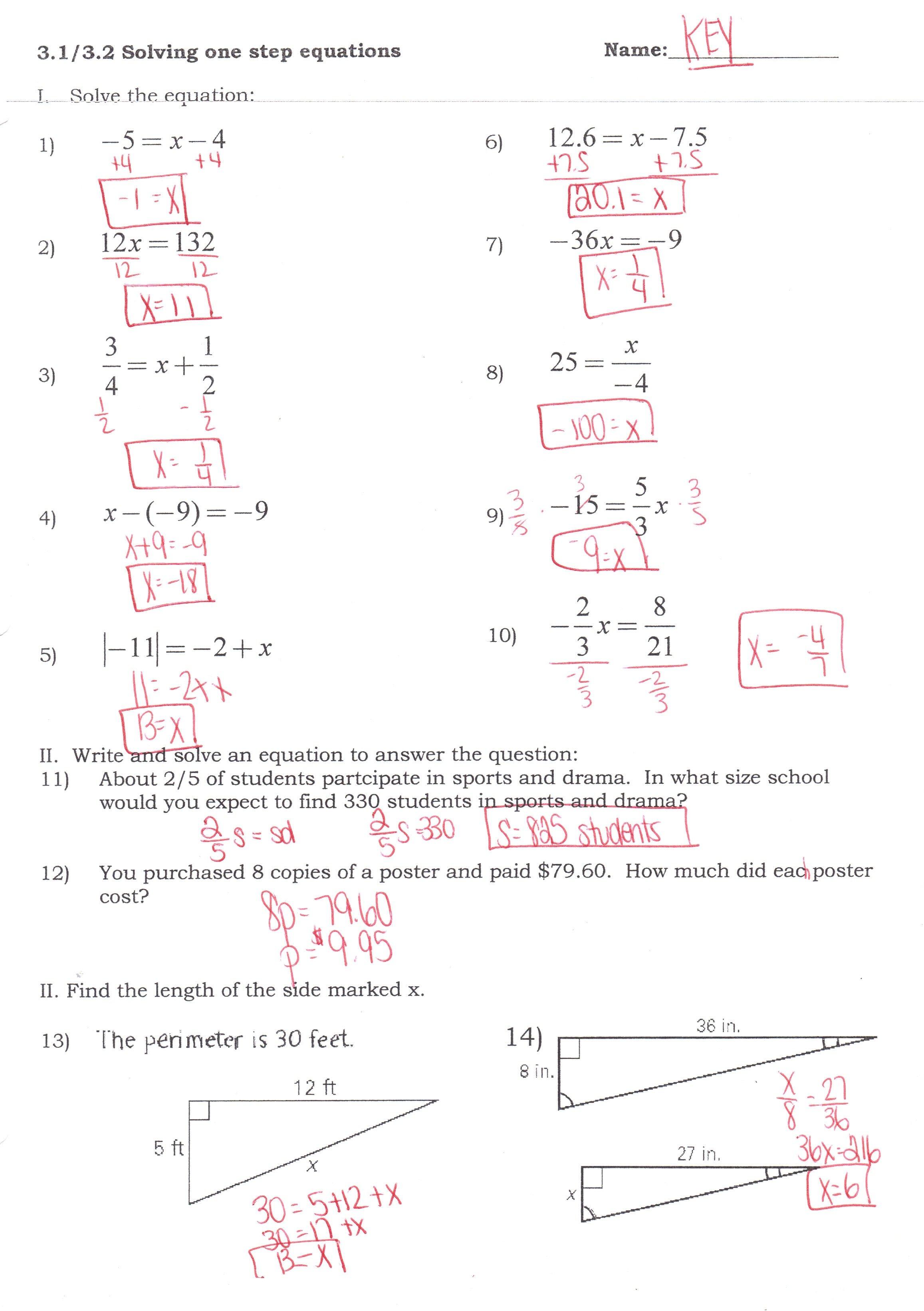Algebra Ihonors  Mrs Jenee Blanco Go Mustangs Pertaining To Solving Multi Step Inequalities Worksheet