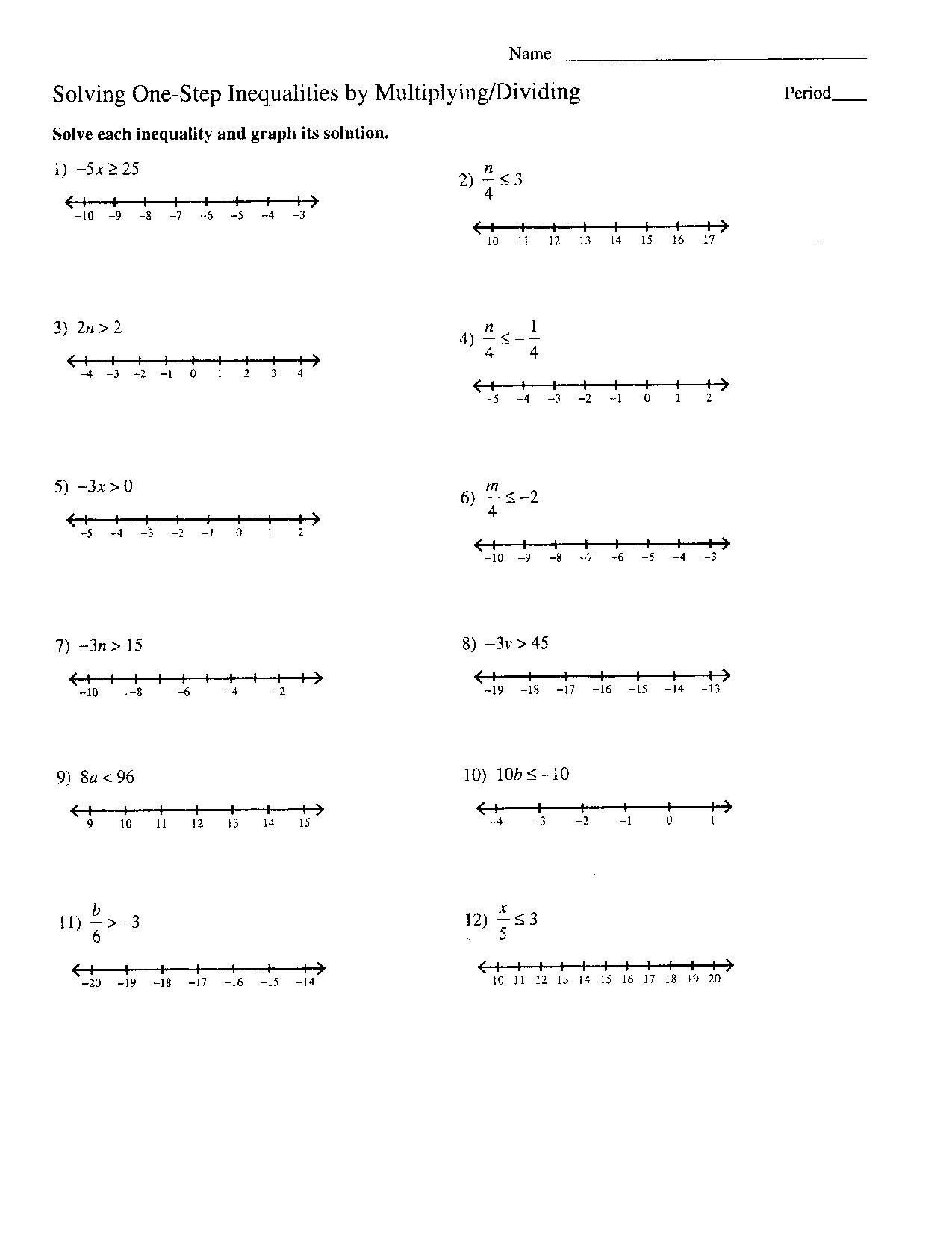 Algebra Problems And Worksheets  Algebraic Long Division Inside 8Th Grade Algebra Worksheets