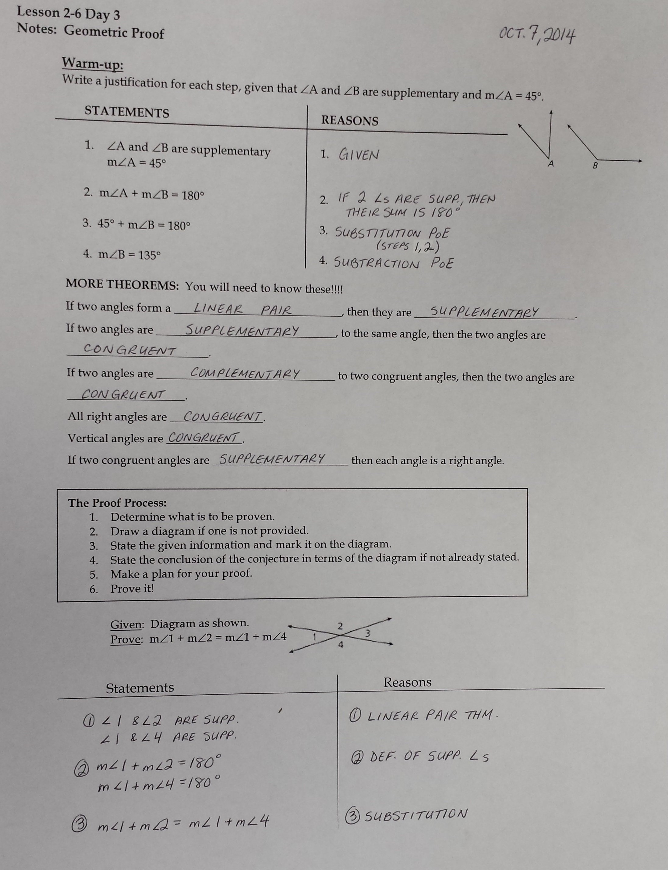 Algebraic Proofs Worksheet With Answers  Soccerphysicsonline With Regard To Proofs Practice Worksheet Answers