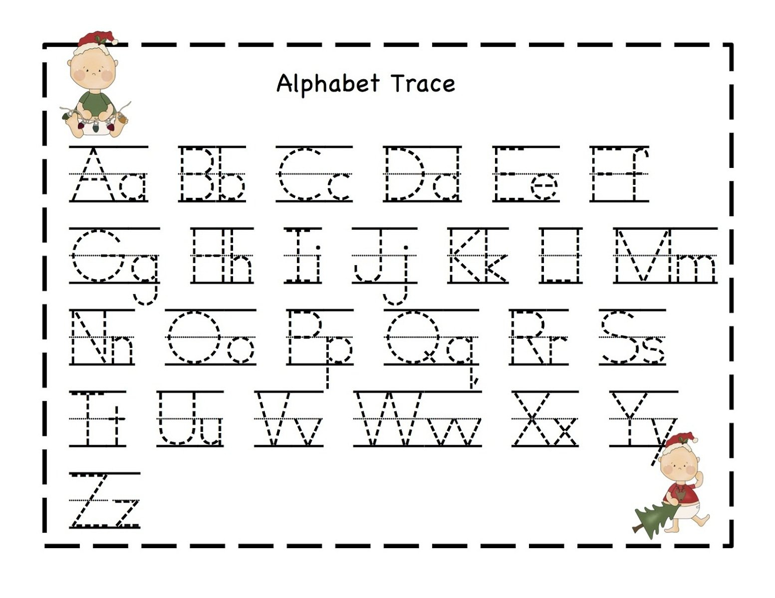 Alphabet Worksheets  Best Coloring Pages For Kids Within Free Printable Abc Worksheets