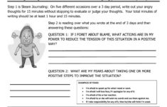 Anger Management Worksheet 11 Steam Journaling Angry throughout Anger Management Worksheets Pdf