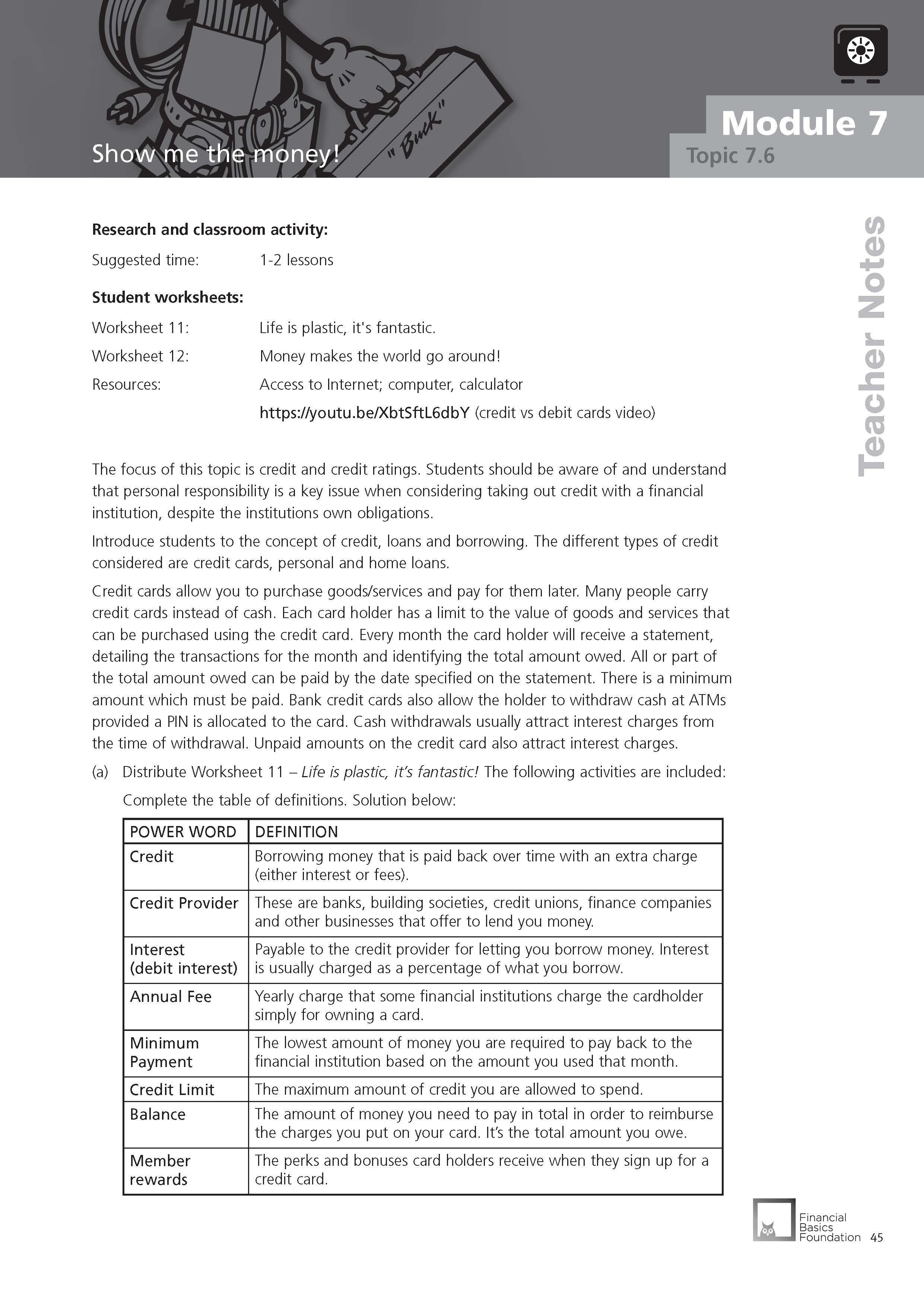 Banking  How Does It All Work  Operation Financial Literacy As Well As Financial Literacy Worksheets Pdf