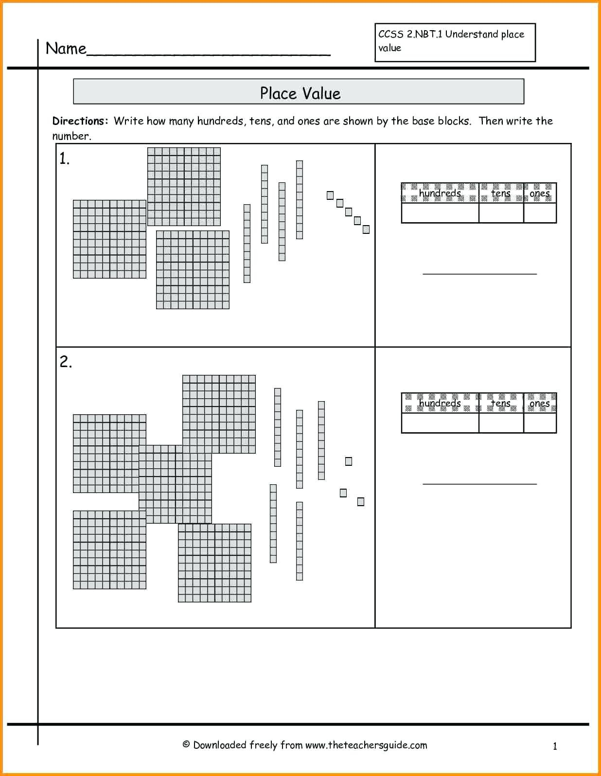 Base Ten Blocks Division – Celanadalamwanitaclub Along With Base Ten Worksheets
