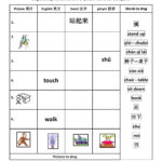Beginning Chinese  Total Physical Response Tpr  Interactive Regarding Chinese Worksheets For Beginners