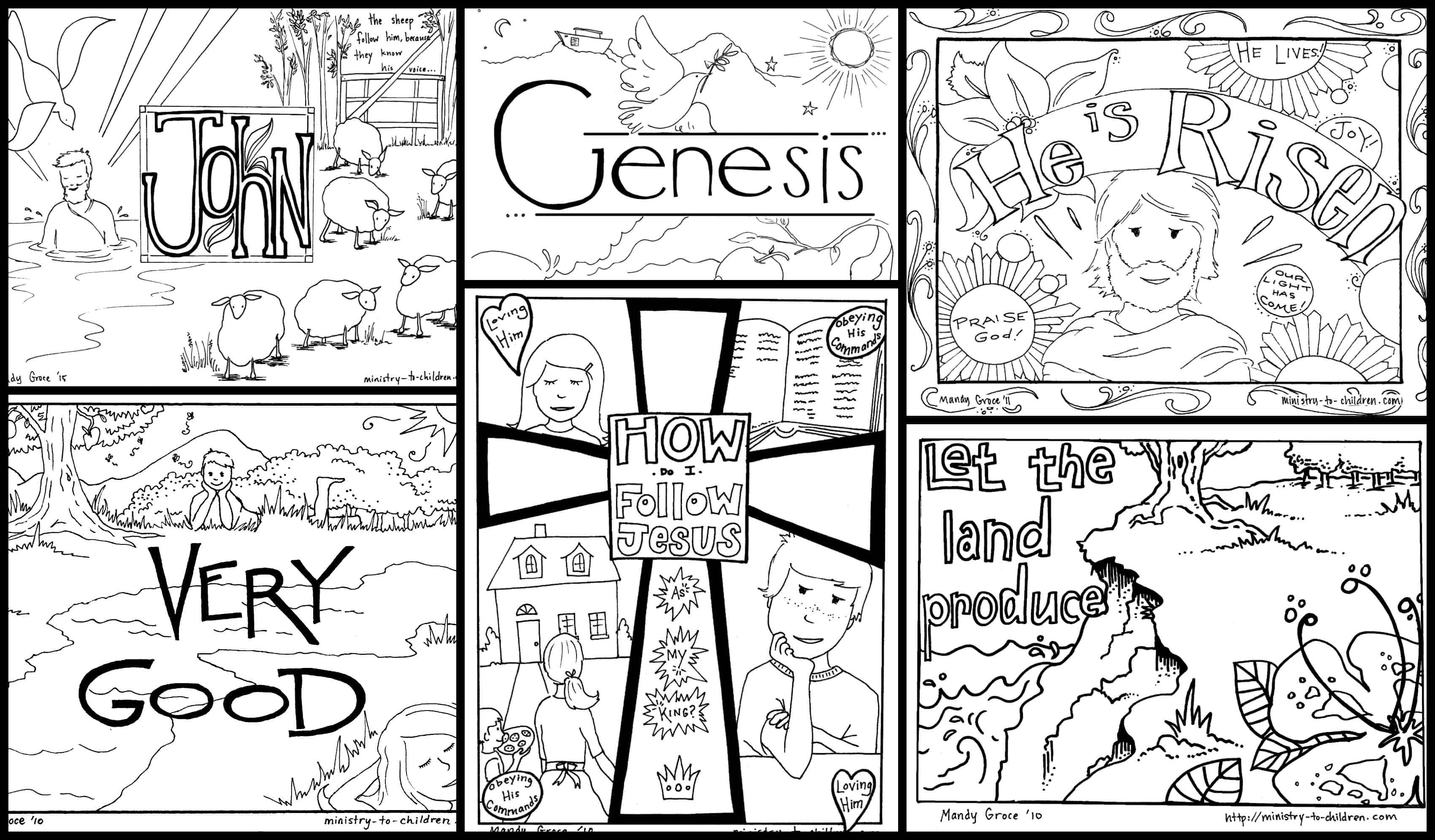 Bible Coloring Pages For Kids Free Printables For Free Bible Worksheets For Kids