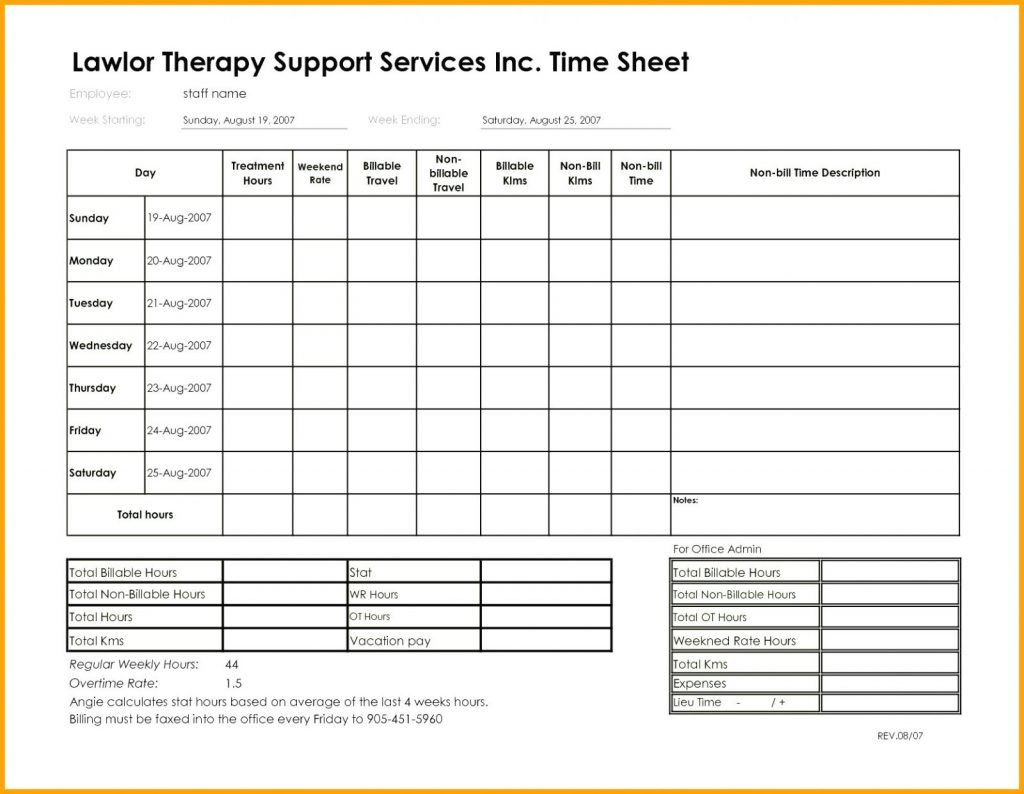 Billable Hours Invoice Tracking Template Radiotodorocktk 49194470352 ... In Billable Hours Spreadsheet