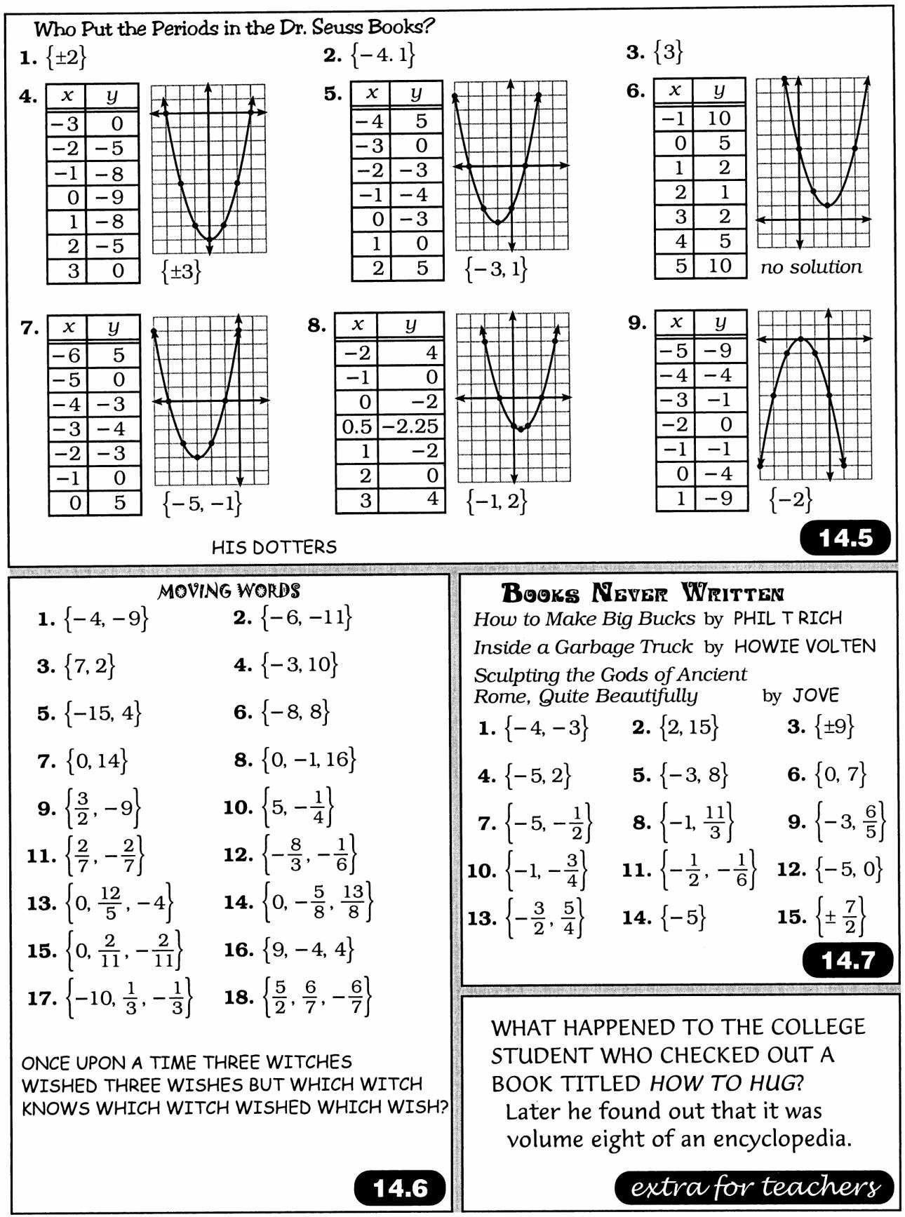 Books Never Written Math Worksheet Answers Yours Forever  Yooob For Books Never Written Math Worksheet Answers Yours Forever
