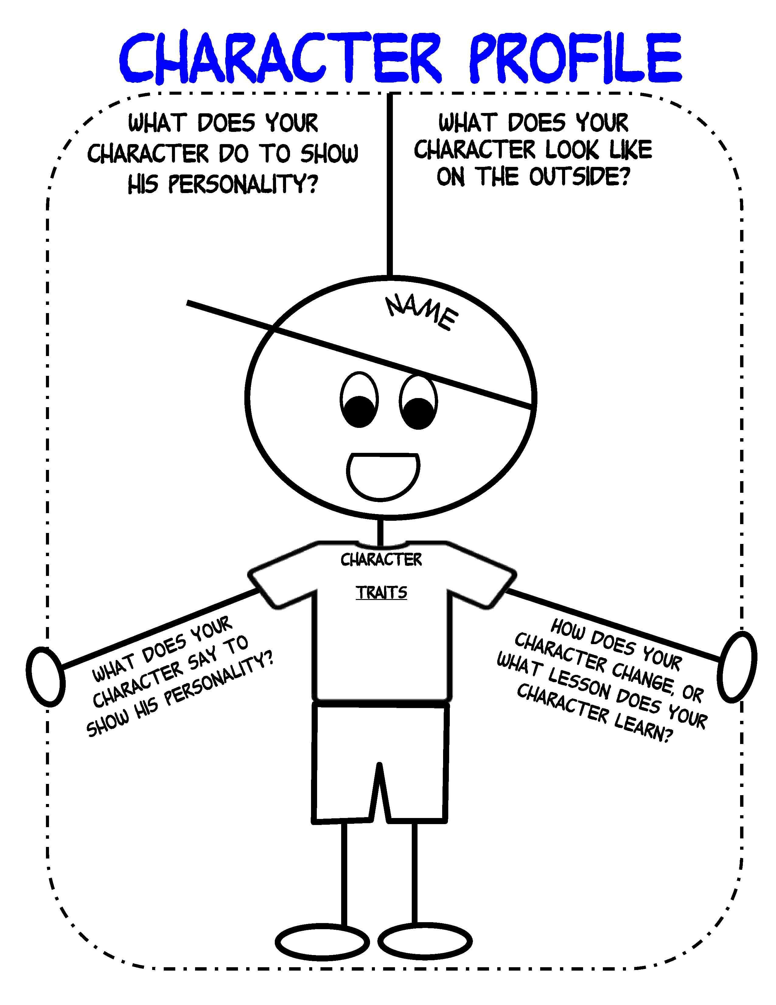 Bringing Characters To Life In Writer's Workshop  Scholastic Throughout Free Character Education Worksheets
