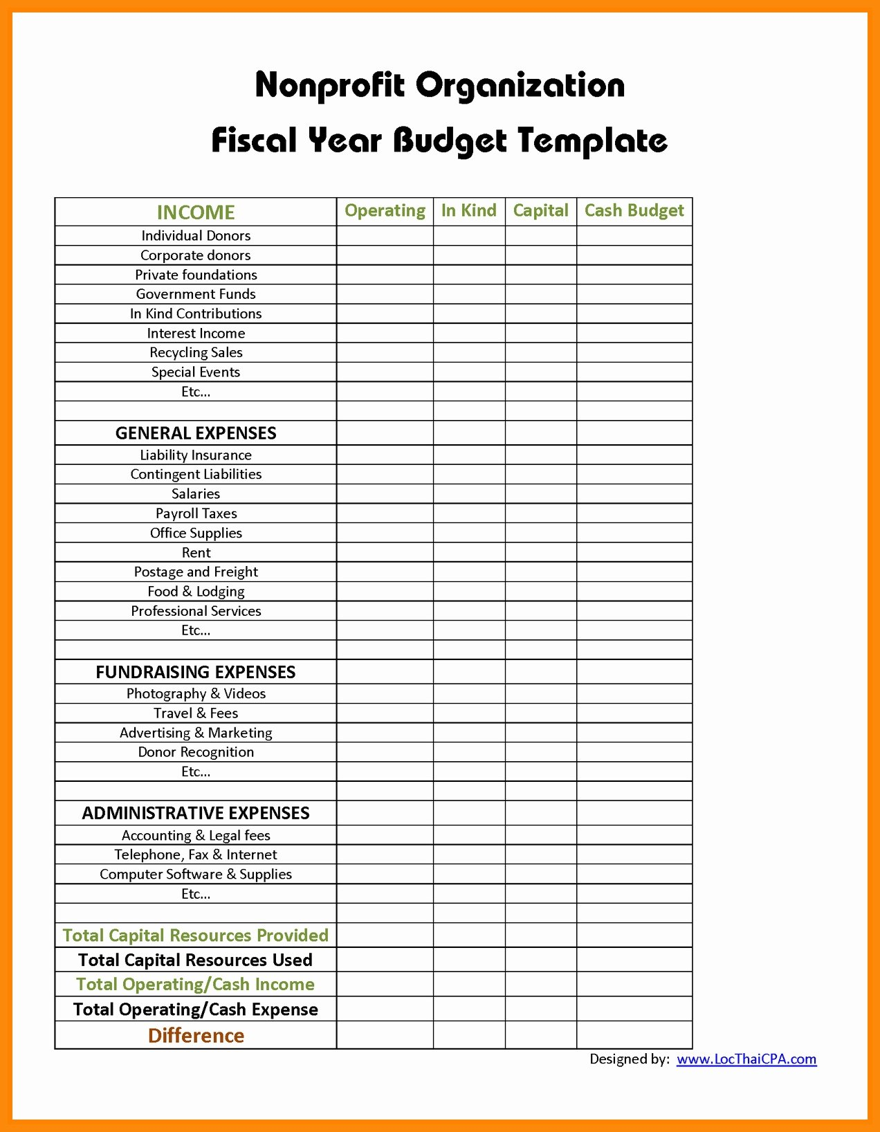 Budget Spreadsheet Excel Free Monthly Household Template Sonal  Smorad With Regard To Non Profit Budget Worksheet Download