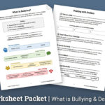 Bullying Worksheet Packet Worksheet  Therapist Aid In Free Bullying Worksheets
