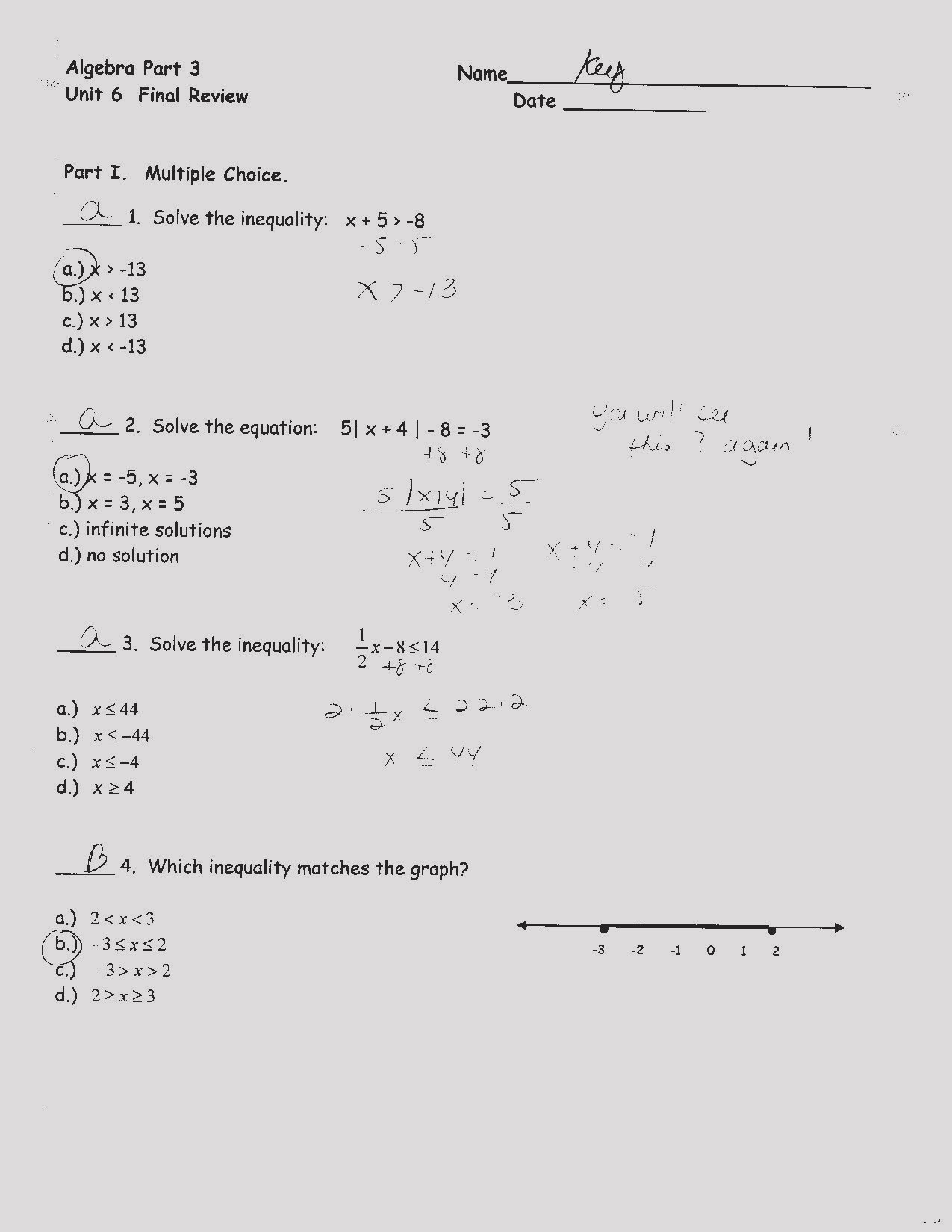 Bunch Ideas Of Algebra 1 Graphing Linear Equations Worksheet Fresh Or Linear Equations Review Worksheet