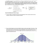 Calculating Standard Deviation Worksheet Also Standard Deviation Worksheet With Answers Pdf