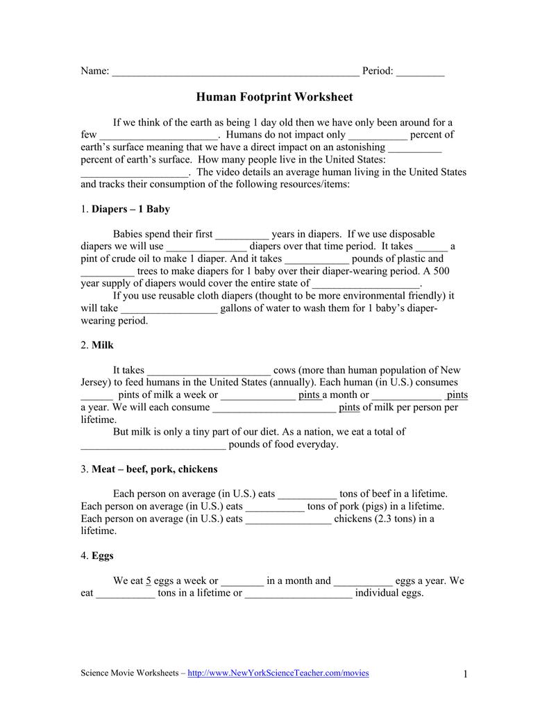 Carbon Footprint Worksheet Answers – 7Th Grade Math Worksheets And Carbon Footprint Worksheet Answers