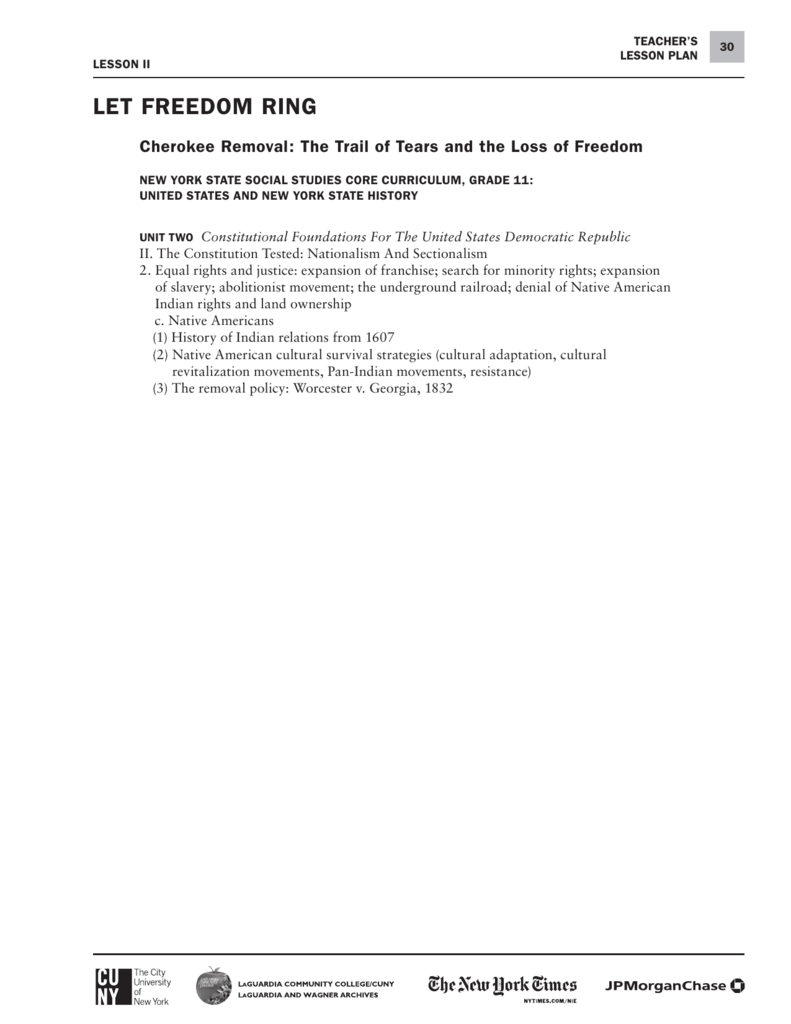 Cherokee Removal The Trail Of Tears And The Loss Of As Well As Trail Of Tears Worksheet