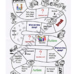 Classroom Monopoly  Set 1  Esl Worksheetkholoud Along With Monopoly Game Worksheet