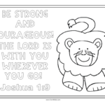 Coloring Page  Coloring Pages For Kids Free Bible Strong And Regarding Free Bible Worksheets For Kids