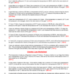 Combined Gas Law Problems Intended For Combined Gas Law Problems Worksheet Answers