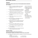 Concept Review Pertaining To Skills Worksheet Critical Thinking Analogies Answer Key