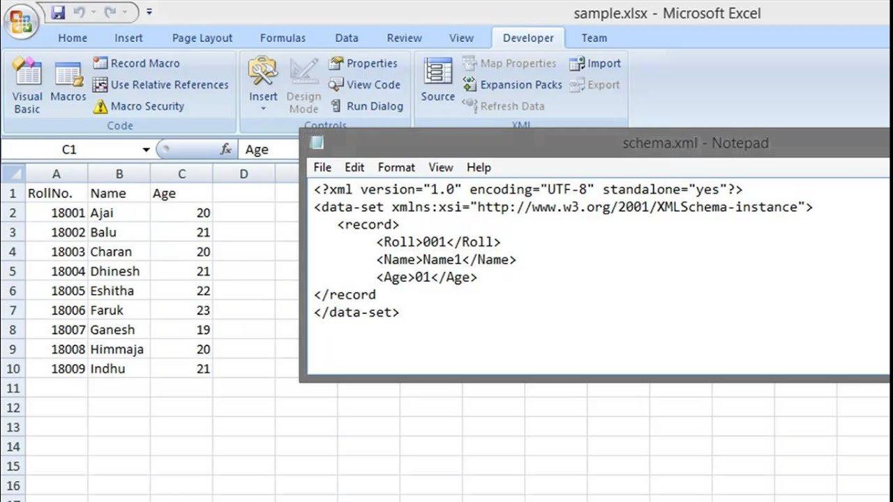 Converting Xls To Xml   Tutorial (Excel Spreadsheet To Xml)   Youtube Pertaining To Convert Xml To Excel Spreadsheet