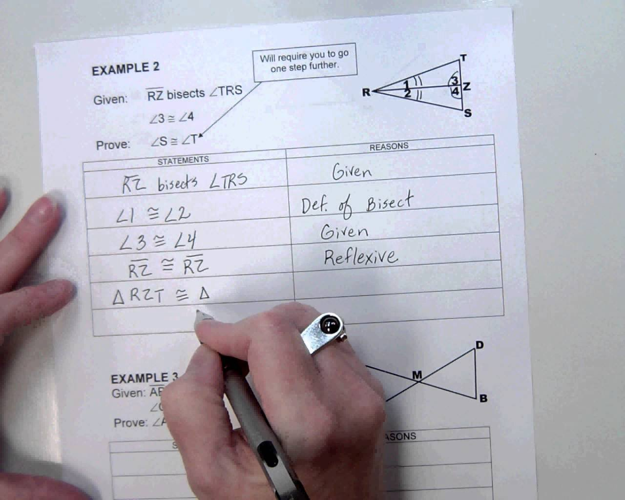 Cpctc Proofs Worksheet With Answers  Yooob Together With Proofs Practice Worksheet Answers