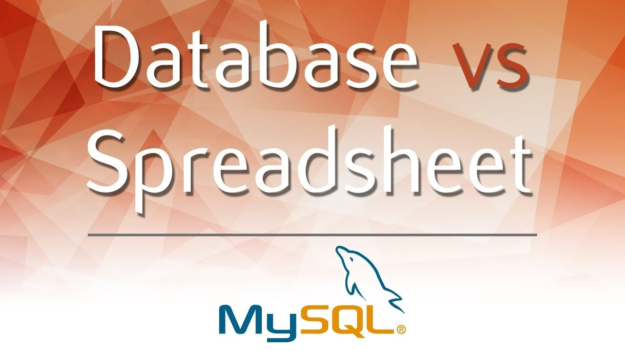 Database Vs Spreadsheet   Advantages And Disadvantages Inside Database Vs Spreadsheet Comparison Table