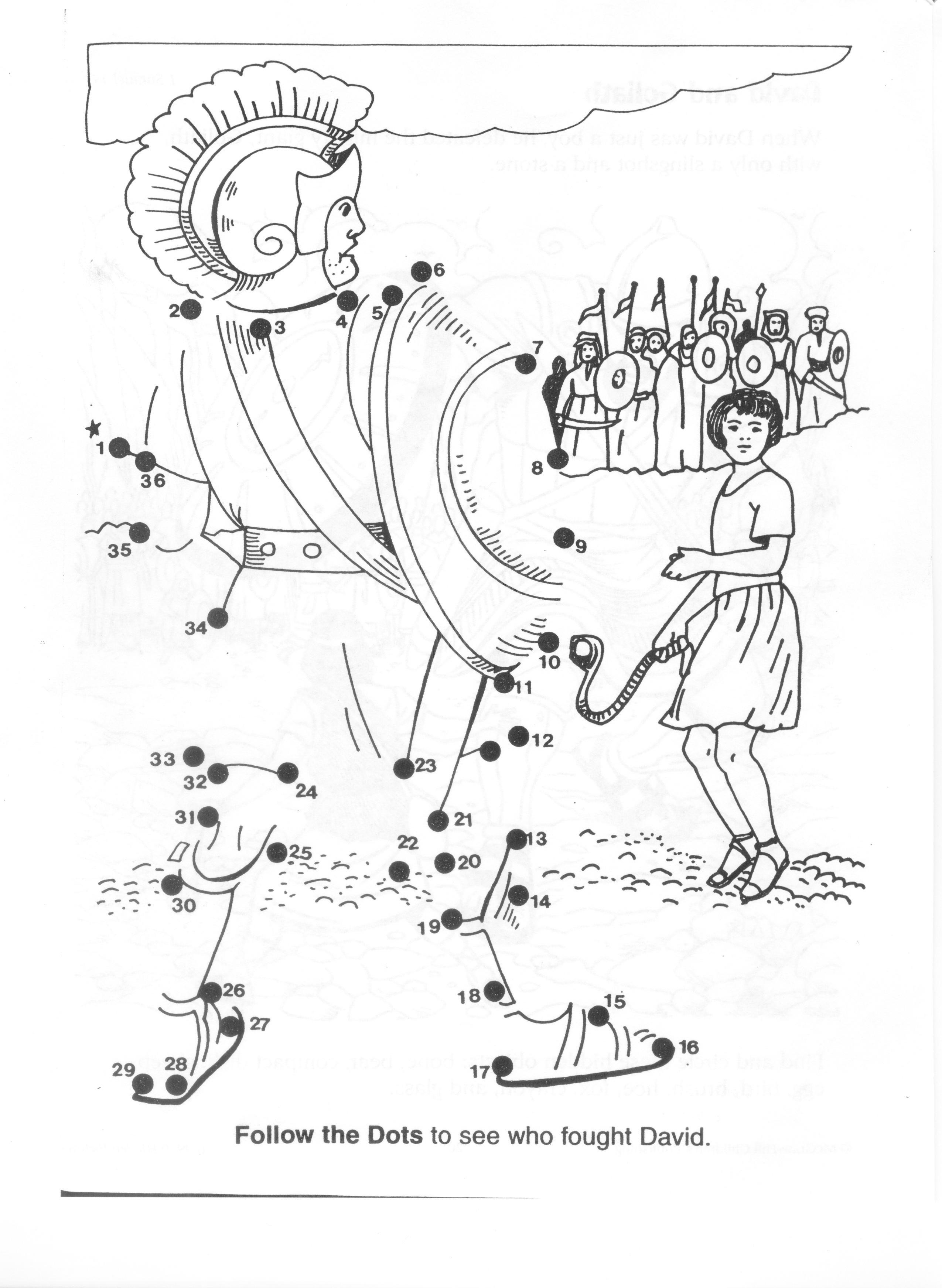 David And Goliath Worksheets  Yooob Pertaining To David And Goliath Worksheets