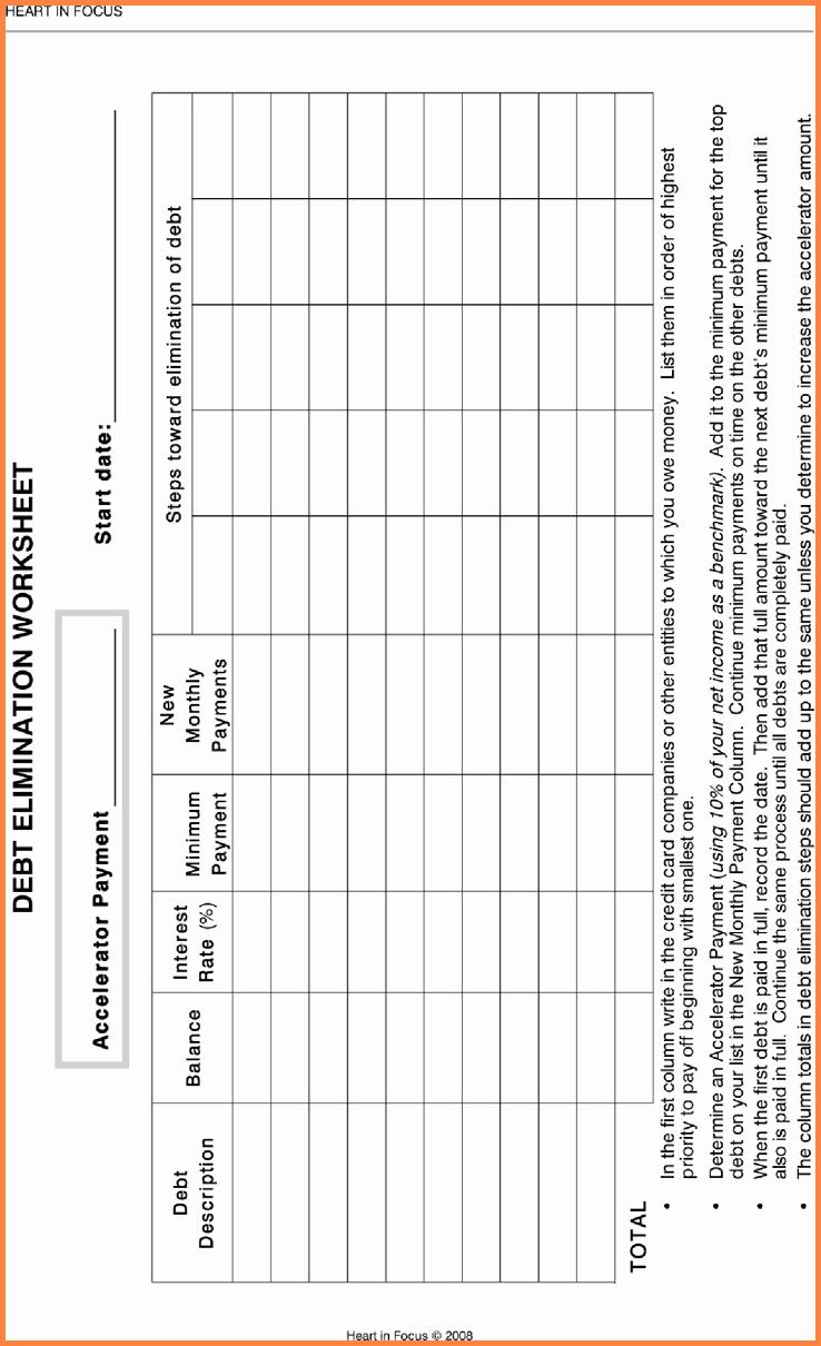 Debt Elimination Spreadsheet For Debt Free Spreadsheet Templates Along With Debt Elimination Worksheet