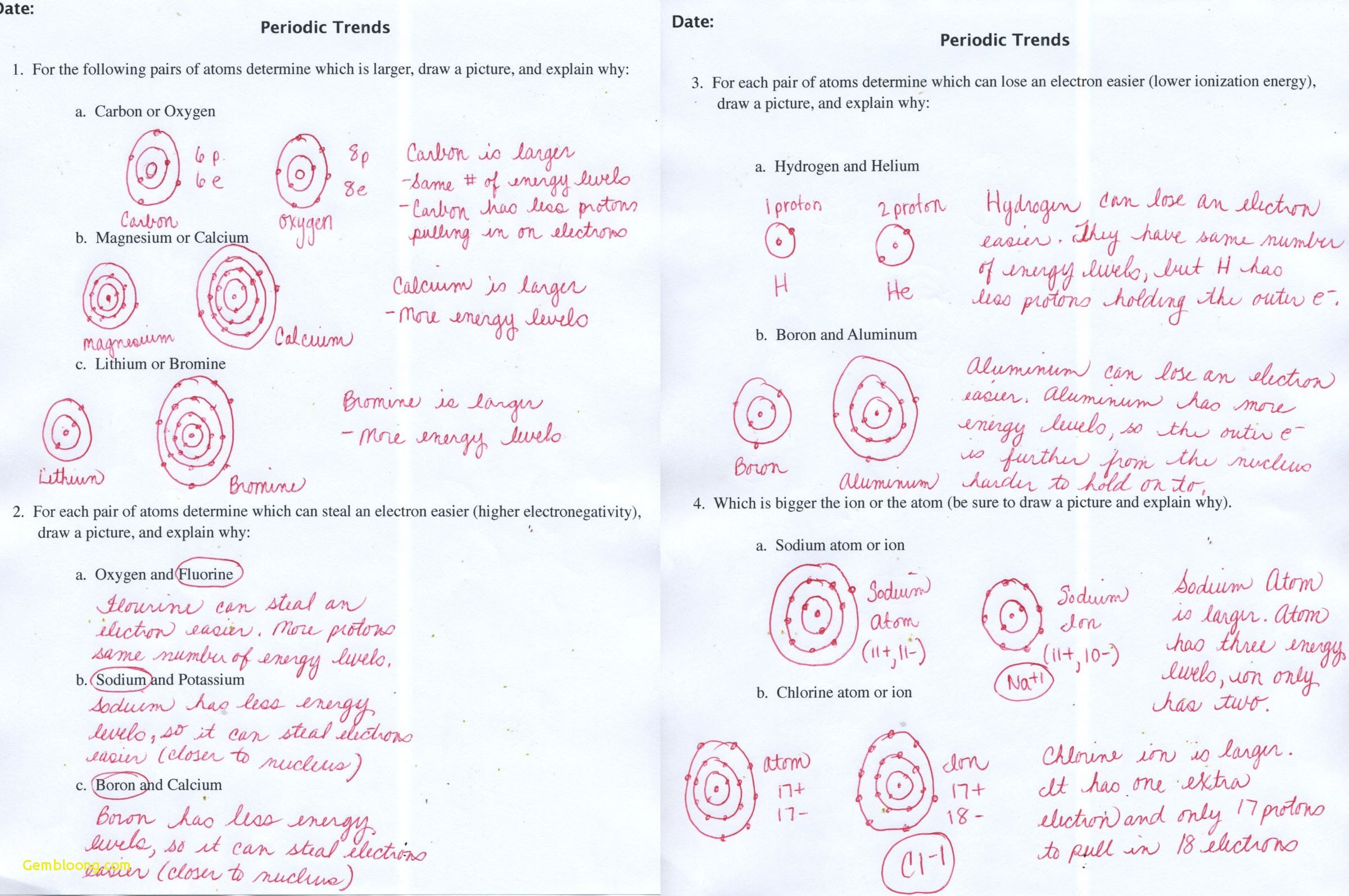 Drawing Atoms At Paintingvalley  Explore Collection Of Drawing Inside Drawing Atoms Worksheet Answer Key