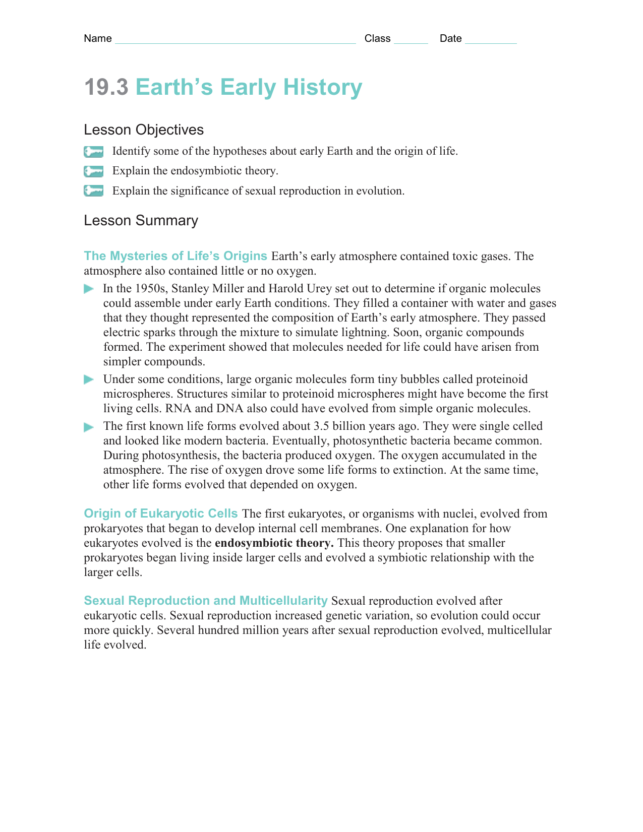 Earth S Early History Worksheet Answers  Geotwitter Kids Activities And Earth039S Changing Surface Worksheets Answers
